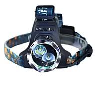 T6+XPG White Light And Yellow Light Headlamp Headlight Glare Of Headlights LED Charging Outdoor Fishing Lamp