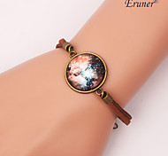 Eruner®Handmade Fashion Women's Pretty Galaxy Cosmic Moon Lace Bracelets