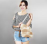 Fashion Women's Rabbit Fur Handbag