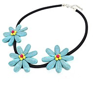 Fashion Flowers Necklace(Color Random)