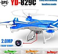 yd829 rc Drohne mit hd Kamera eine Taste 3D Flip 2.4G 4CH 6axis Hubschrauber Quadrocopter Headless Mode