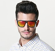Sunglasses Men / Women / Unisex's Classic / Sports / Fashion Square Red / Blue / Leopard Sunglasses Full-Rim