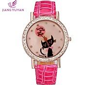 strass guarda le donne casuali sport orologio vendita orologi signore del quarzo di modo (colori assortiti)