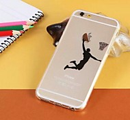 Cartoon Characters Matte TPU Back Cover for iPhone 6(Assorted Colors)