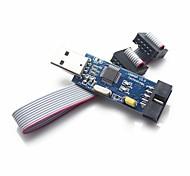 USBASP USBISP Downloader Programmer for 51 AVR - Blue + Black