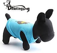 droolingdog® kühlen Australien-Karte Muster aus 100% Baumwolle Weste für Haustiere Hunde (verschiedene Größen)