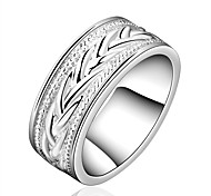 Gothic Jewelry Women's Silver Alloy Statement Rings(1 Pc)