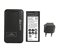 Minismile™ Replacement 3800mAh Li-ion Battery with Special Battery Charger and EU Plug for Samsung Galaxy Note 4 / N9100
