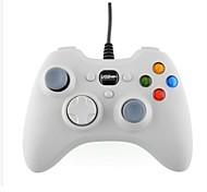bianco wired Game Controller USB joypad gamepad joystick per computer portatile pc Microsoft Xbox360 gioco (bianco)