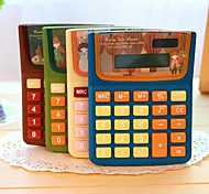 Cartoon Girl Calculator(Random Color)