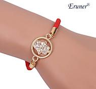 Eruner®Bright Zircon Hand Alloy Charms Handmade Bracelets