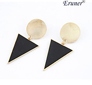 Eruner®New Design Fashion Black Geometric Dangle Earrings Jewelry