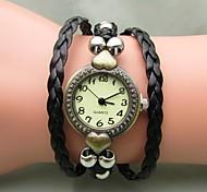 Women's Retro Bohemian Weave Auartz Watch