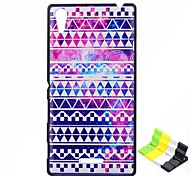National Wind Pattern PC Hard Case and Phone Holder for Sony Xperia T3