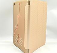 3d piede pc carino + custodia in pelle per iPad 2 dell'aria