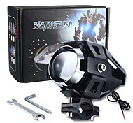 Merdia U5 15W 3000LM 6500K 1SMD LED White Light Laser Gun /Spot Bulb /Decoration Light for Motorcycle (1Piece /12V-80V)