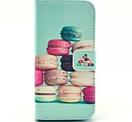 Hamburg Pattern PU Leather Case with Stand for Samsung Galaxy S5 MINI