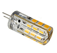 G4 3 W 24 SMD 2835 270 LM Warm White/Cool White Bi-pin Lights DC 12 V
