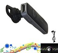 oi-fi esporte sem fio fone de ouvido bluetooth anti-radiação fone de ouvido Bluetooth + controle remoto auto + fm para samsung