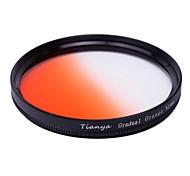 TIANYA 62mm Circular Graduated Orange Filter for Pentax 18-135 18-250 Tamron 18-200mm Lens