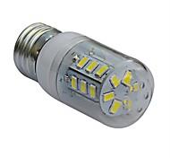 Bombillas LED de Mazorca T E26/E27 4W 24 SMD 5730 320-360lm LM Blanco Cálido / Blanco Fresco AC 100-240 V
