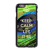 Keep Calm and Let It Be Design  Aluminum Case for iPhone 6