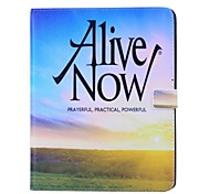 Alive Now Pattern PU Wallet Leather Case with Stand for iPad 2/3/4