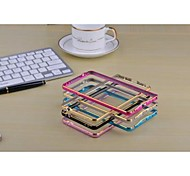 Metal High-Grade Double-Color Arc Protection Framework  for Samsung Note 4 (Assorted Colors)