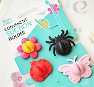 Insects Modelling Shape Cartoon Silicone Earphone Cable Wire Cord Organizer Cable Winder 4Pcs