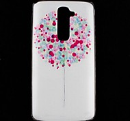 Flying Colorful Balloons Pattern Hard Case for LG G2