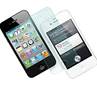 0.26mm Tempered Glass Screen Protector with Microfiber Cloth  for iPhone 4 / 4S