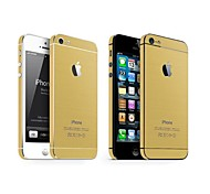 In Imitation of Metal Wire Drawing Scrub Body Mask  for iPhone 5/5S(Assorted Colors)