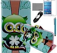 Galaxy Grand Prime G530 compatível Acessórios Pacote Capa/Protector de Tela/Cabo USB/Stylus
