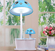 5W 20-Led Lovely Cartoon Mushroom Energy Saving Student Reading Lamp 220V