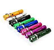 Mountainpeak1 3-Mode 1x Cree Q5 Zoom LED Flashlight(240LM, 1x18650/3xAAA, Assorted Colors)