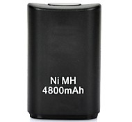 """4800mAh"" Battery Plastic for Xbox 360 Wireless Controller  (Black)"