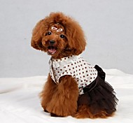 Pet Bowknot  Dress  for Pets Dogs(Assorted Sizes)