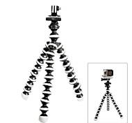 grasa mo gato de 10 pulgadas trípode pulpo para Hero GoPro 4/3 + / 3/2/1 / sj4000 + cámaras universales