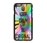 Keep Calm and Be Original Design Aluminum Case for iPhone 6 Plus
