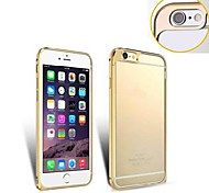 Ultra Slim Aluminum Alloy Bumper Frame with Lens Protector  Cover for iPhone 6 (Assorted Colors)