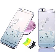 Ocean Series Seal Pattern Soft Case and Phone Holder for iPhone 6/6S