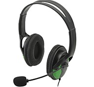 USB Wired Headphones w/ Microphone for PS3 / PS3 Slim / PS3 CECH4000 (Black)