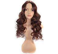 Women Fluffy Deep Wavy Hair Synthetic Wigs
