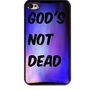 God's Not Dead Design  Aluminum Case for iPhone 4/4S