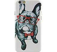 Pug with Glasses Pattern Case for iPhone 6