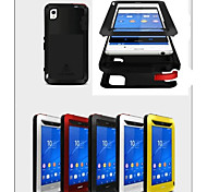 LoveMei® Antichoc Etanche Robuste Waterproof Shockproof Protection Metal Case for SONY Xperia Z3(Assorted Colors)