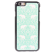Elephant Design Aluminium Hard Case for iPhone 6