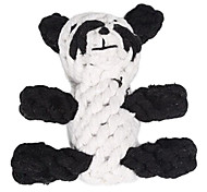 Panda Rope Textile Chew Toys For Dog