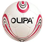OLIPA Standard 5# Red PU Game and Training Football