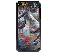 Oil Painting Pattern Aluminum Hard Case for iPhone 5C